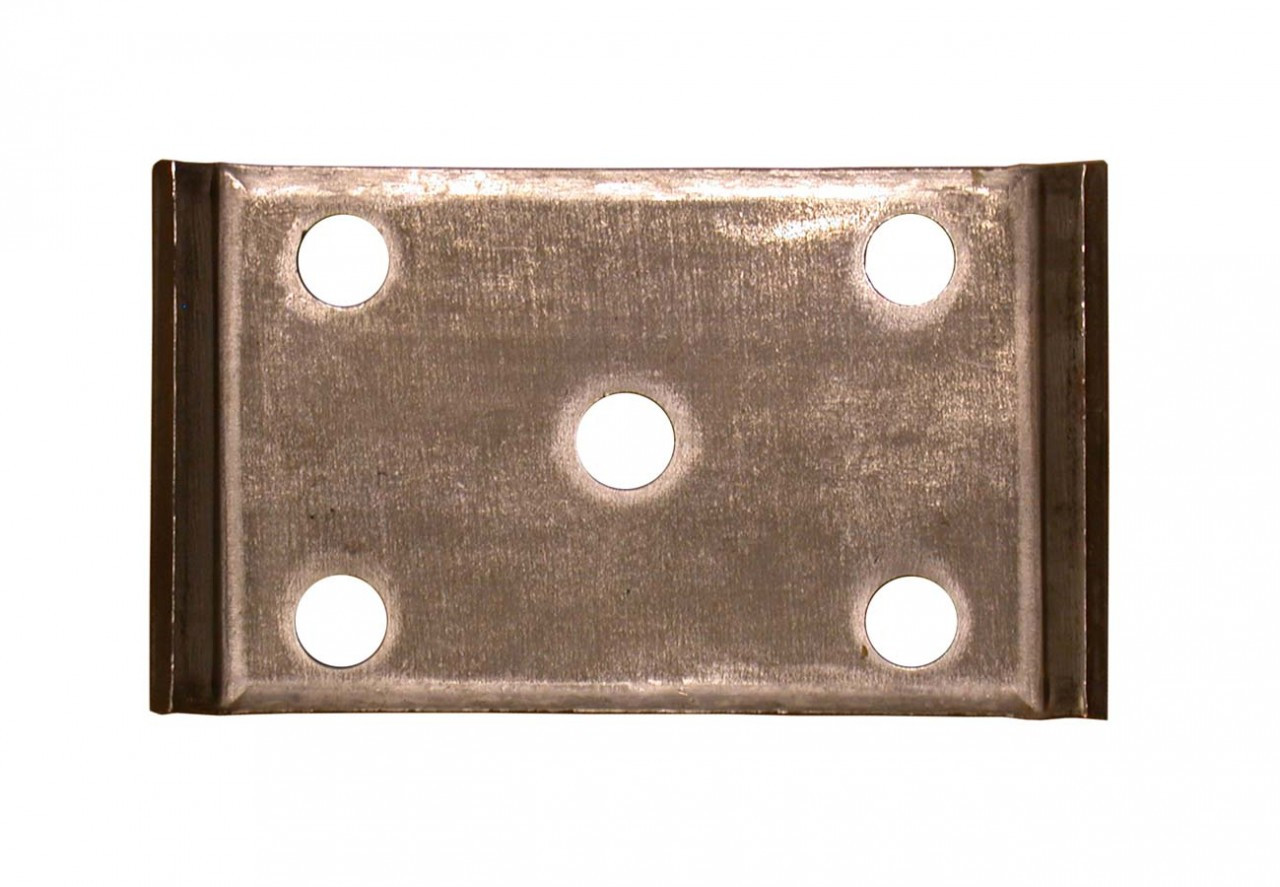 """AP352 --- Axle Plate for 2"""" Wide Springs & 3-1/2"""" Round Axles"""