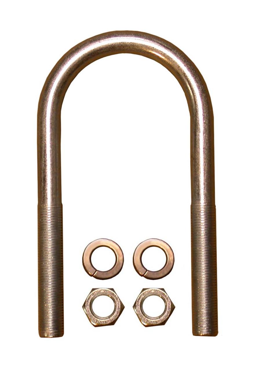 """CUBR625 --- Round U-Bolt Kit - 2-3/8"""" Wide - 6-1/4"""" Long - 1/2""""-20"""