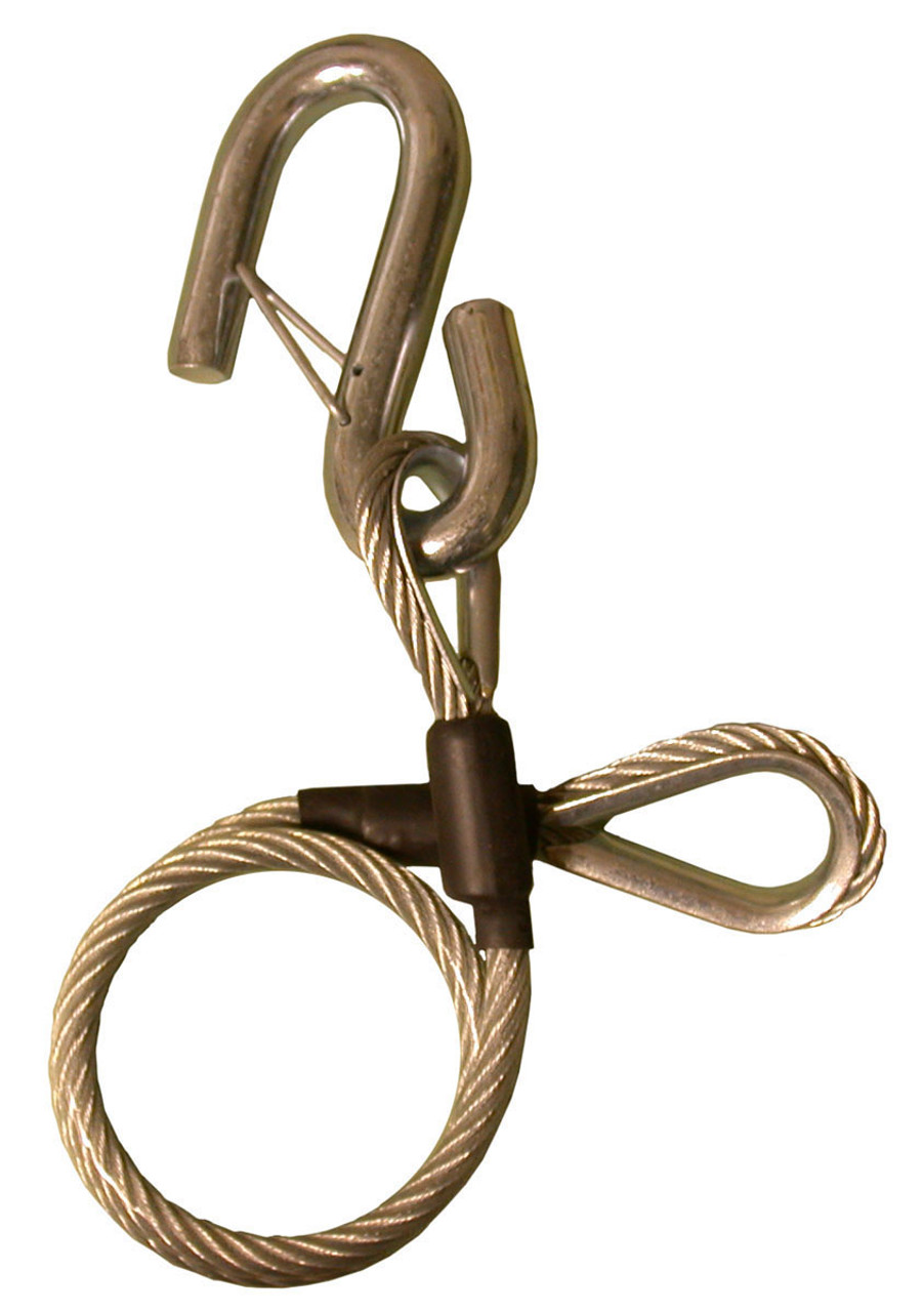 "12236 --- 24"" Safety Cable only with Hook"