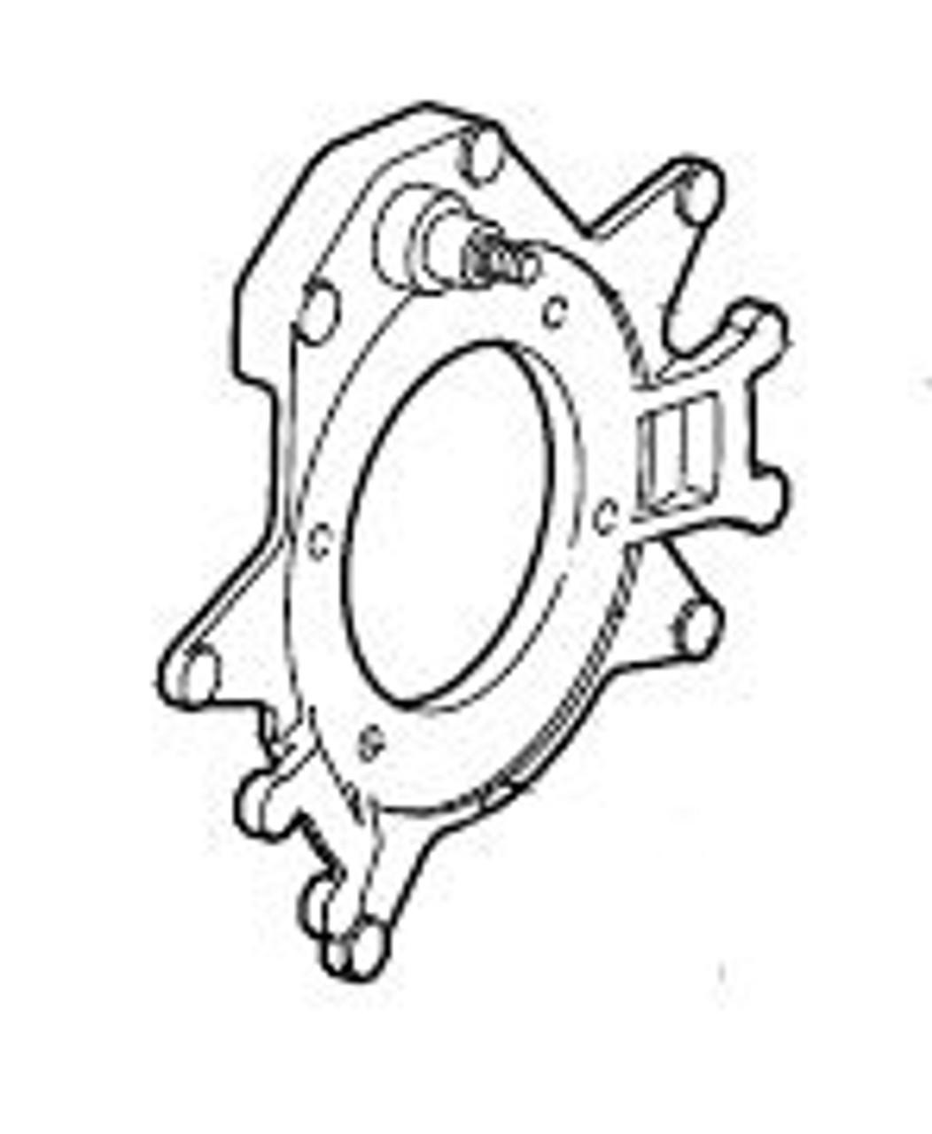 36-119-02 --- Cast Backing Assembly for 7.2k & 8k Capacity Dexter Electric Brake