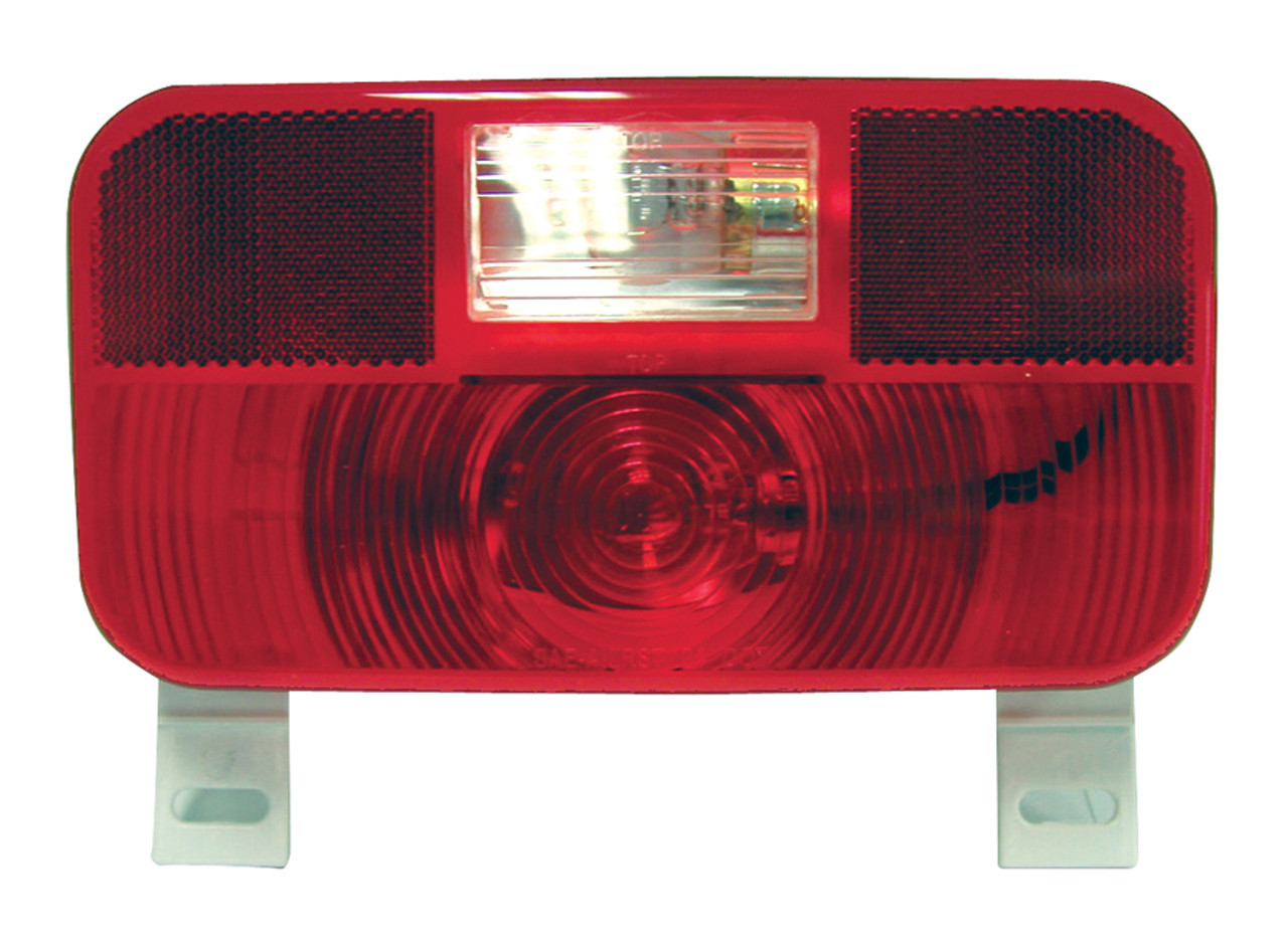 25924RLB --- RV Tail Light with Reflex,  License Plate Light and Backup Light