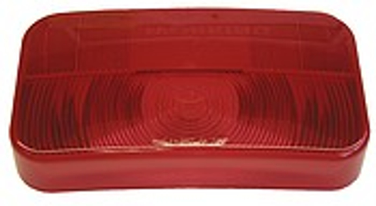 25921-25R --- Replacement  RV Tail Light Lens with Reflex