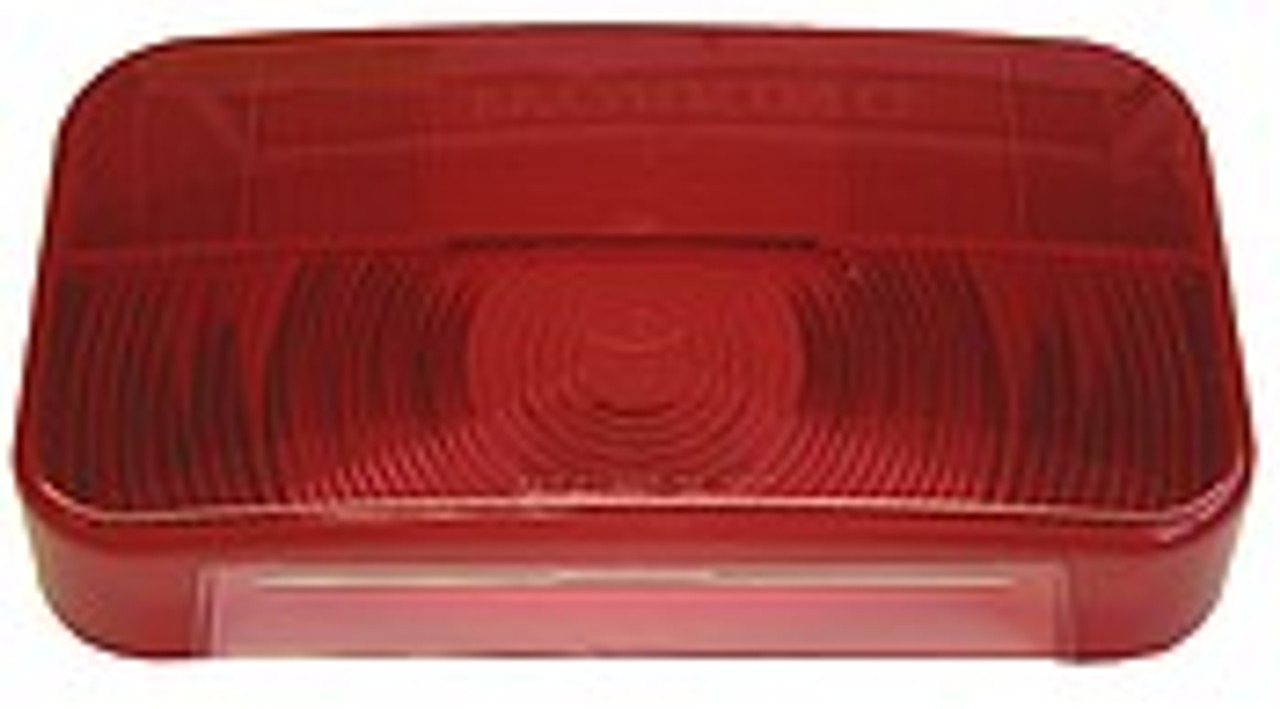 25923-25R --- Replacement RV Tail Light with Reflex & License Plate Light
