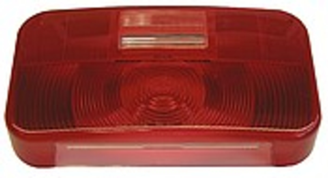 25924-25R --- Replacement RV Tail Light with Reflex,  License Plate Light and Backup Light