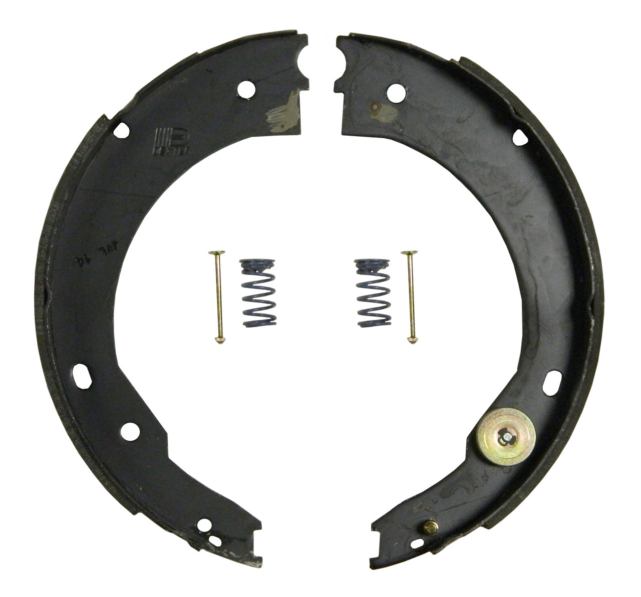 71-676 --- Shoe and Lining Kit for 7,000 lb Capacity Dexter Nev-R-Adjust Electric Brakes - RH