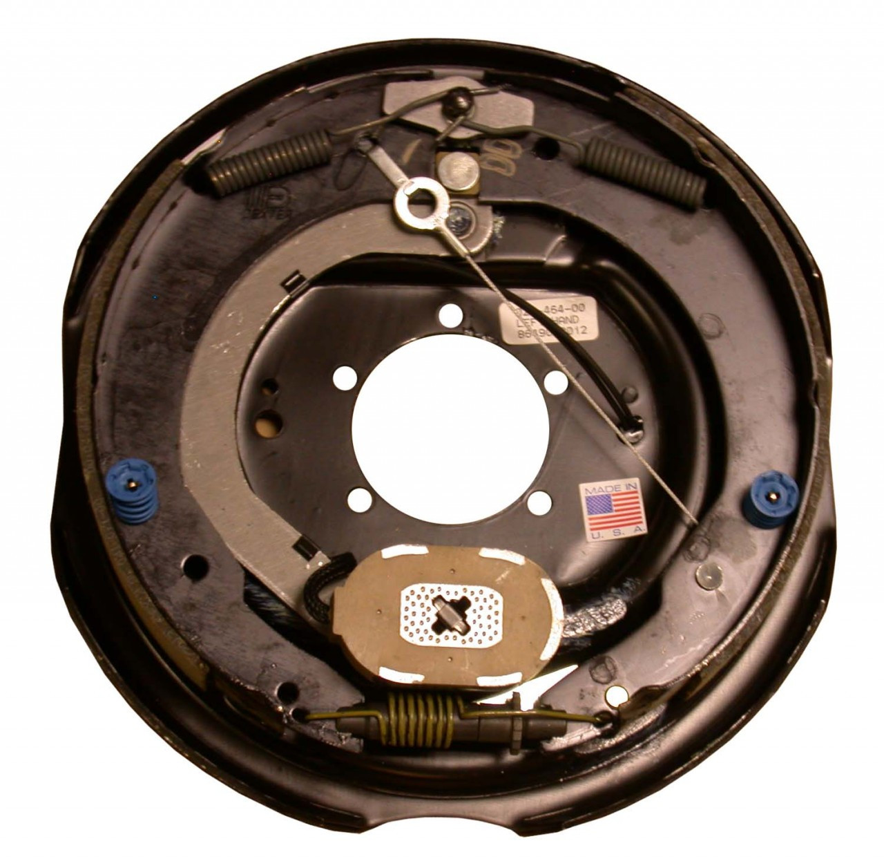 """23-464 --- 12"""" Nev-R-Adjust Electric Brake Assembly - 7K - Left Hand"""