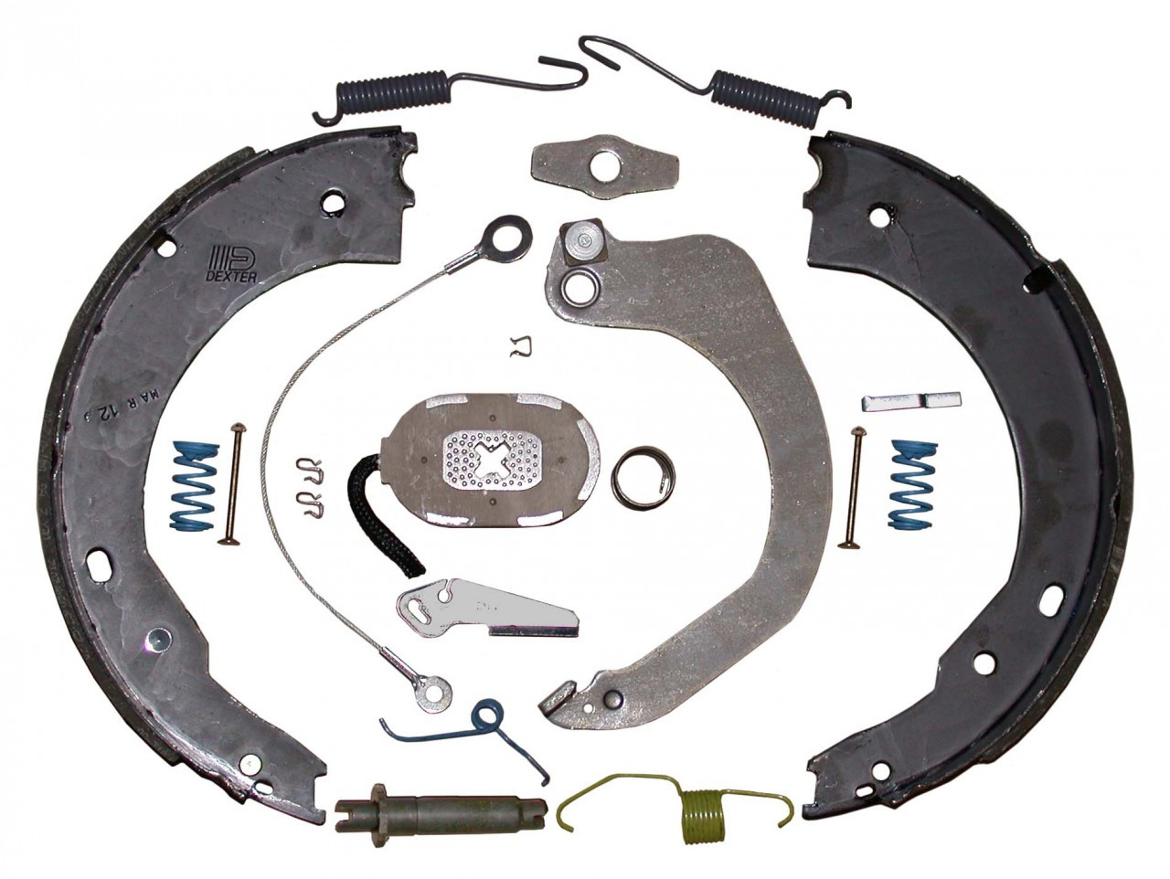 "23-465 --- 12"" Nev-R-Adjust Electric Brake Assembly - 7K - Right Hand"