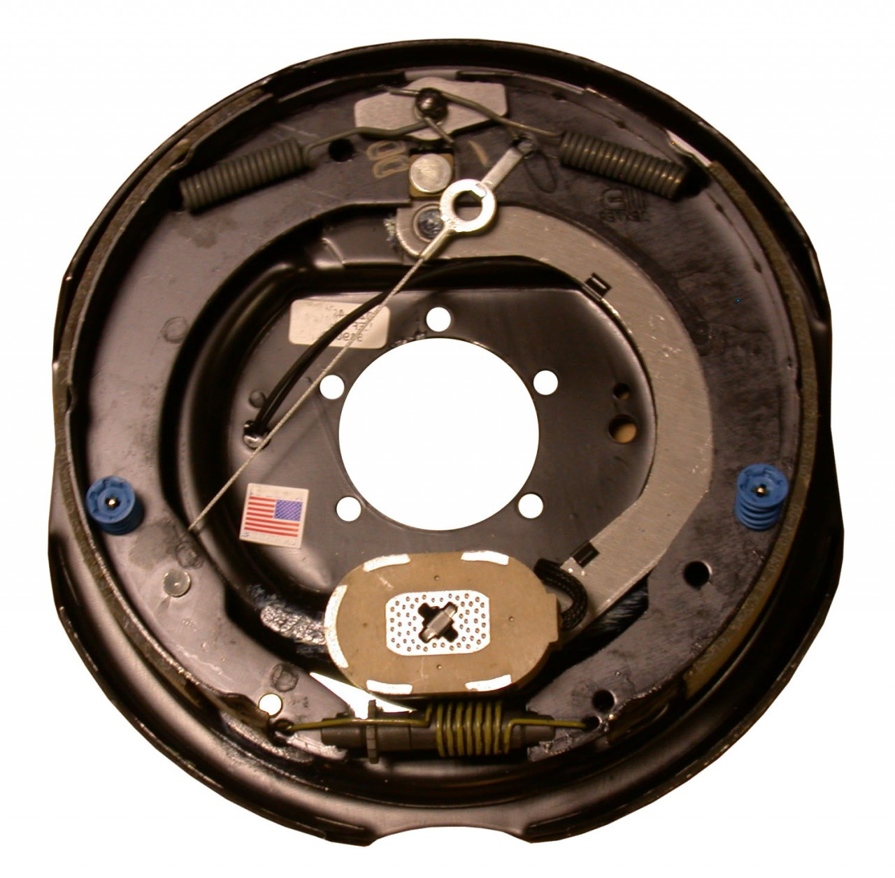 "23-465 --- 12"" Nev-R-Adjust Electric Brake Assembly - 7K - Right Hand"