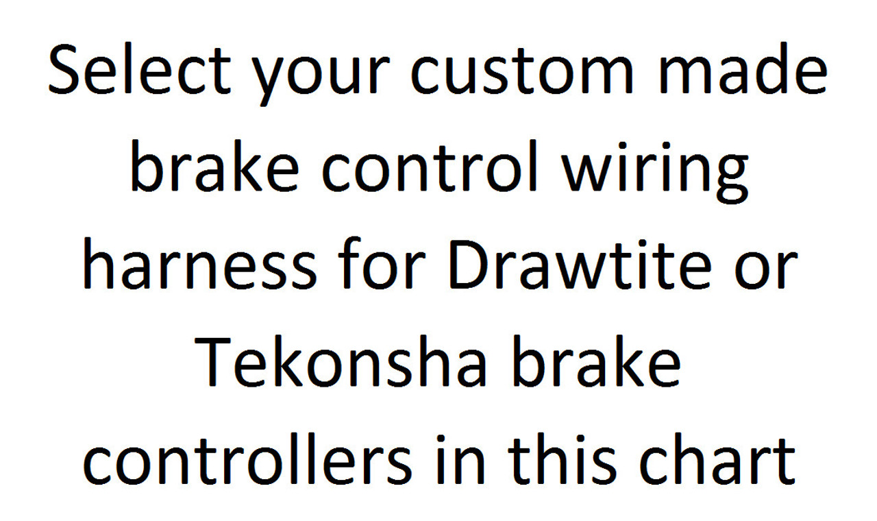 drawtite tekonsha hayes brake control wire harness chart croft rh crofttrailer com