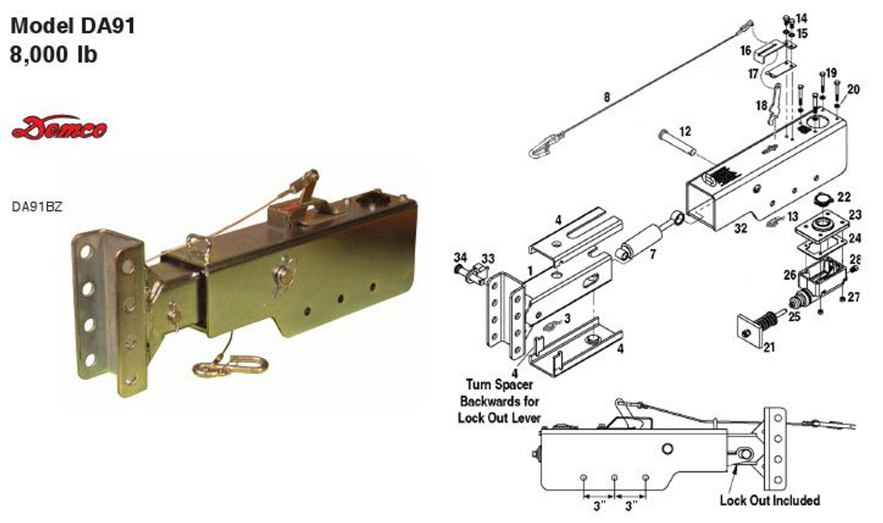 DA91BZ - Parts Breakdown