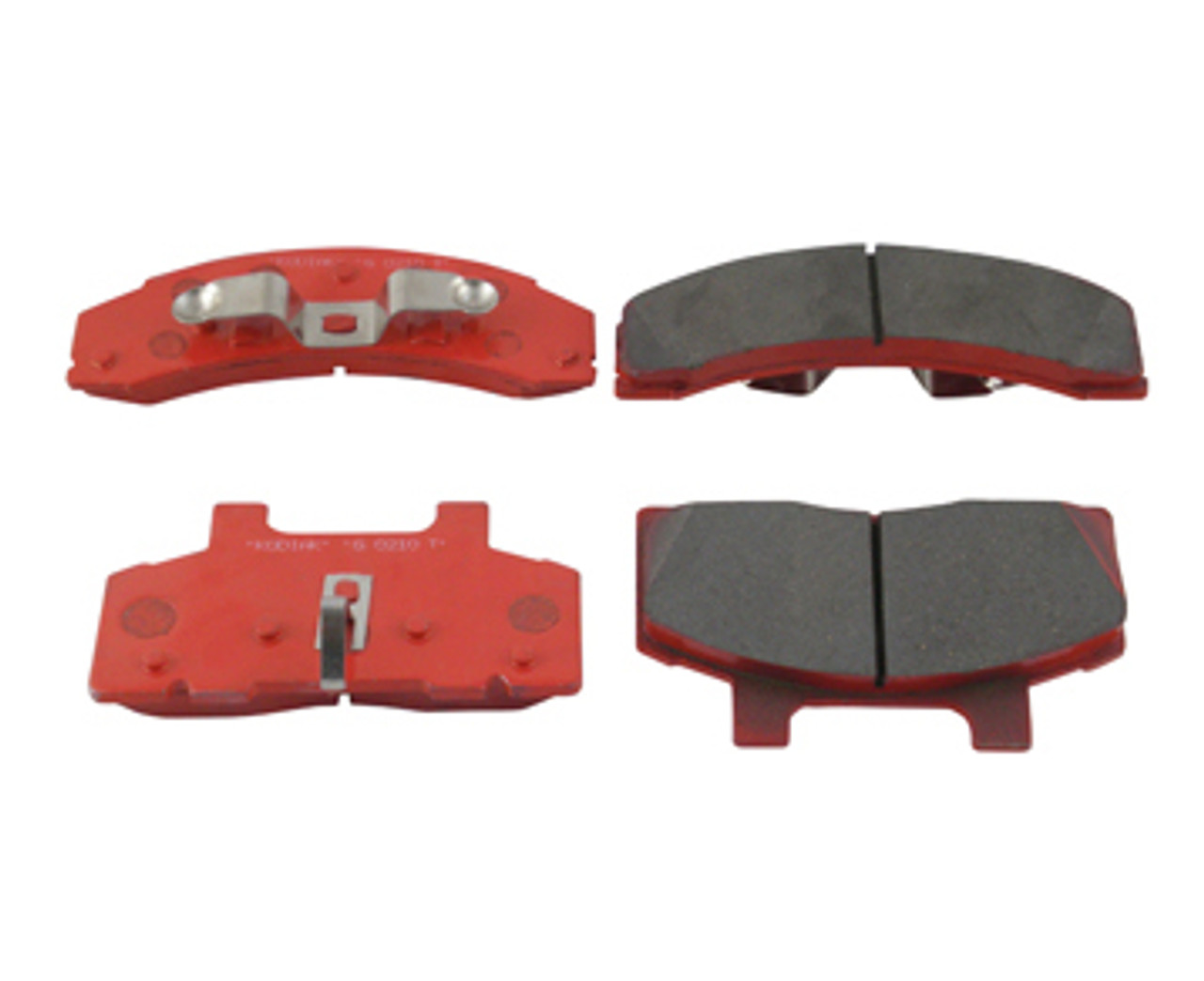 DBC-250-PAD --- Kodiak Ceramic brake pads - One Axle