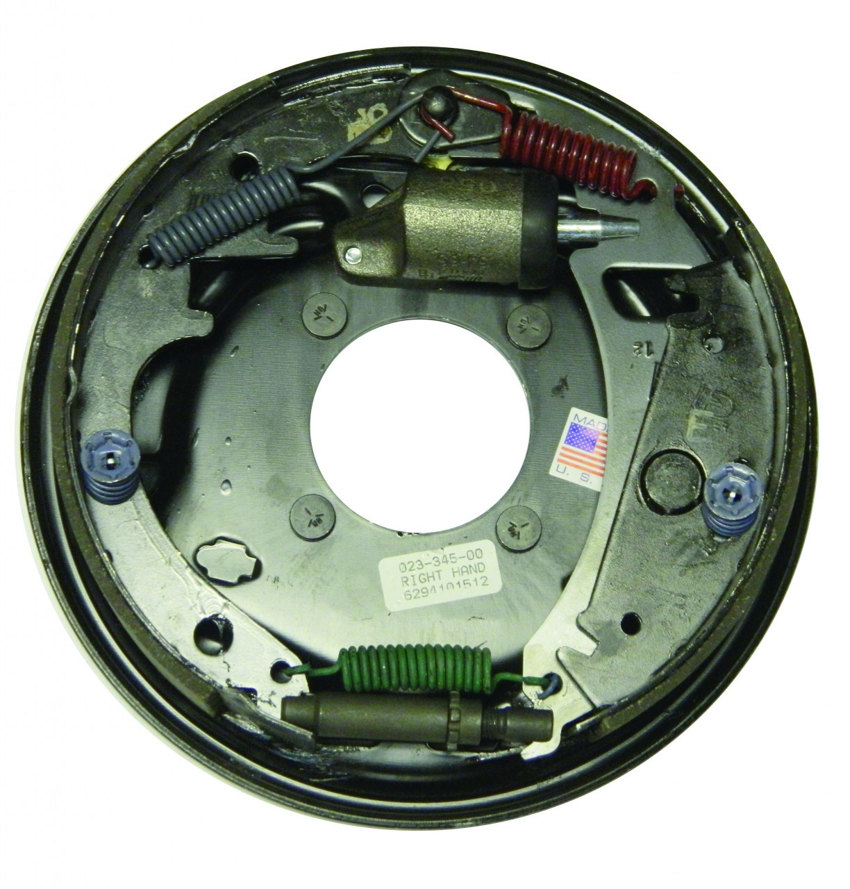 """23-345 --- 10"""" Dexter Free-Backing Hydraulic Brake - Right Hand Assembly - 3.5k"""