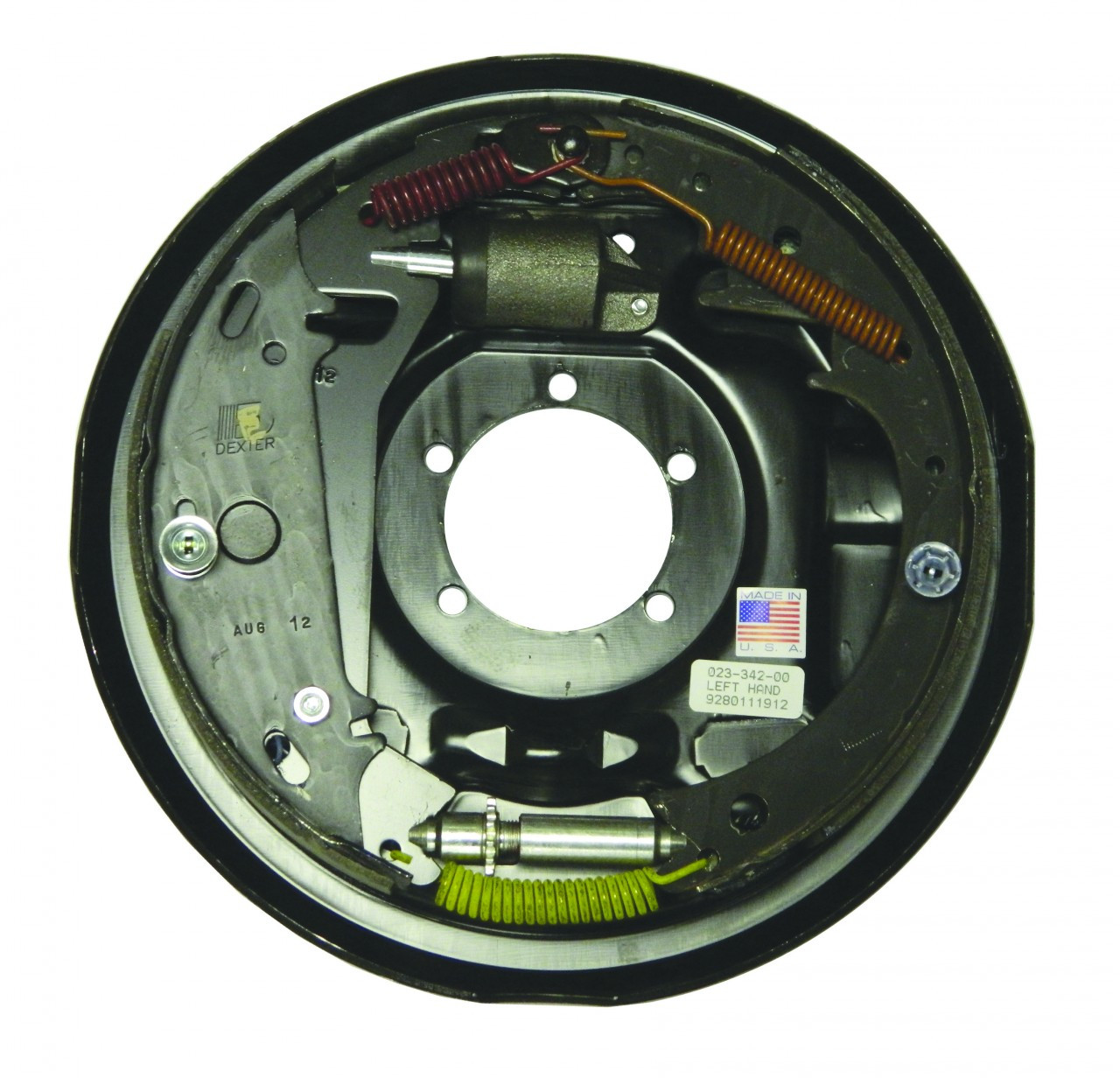 "23-342 --- 12"" Dexter Free-Backing Hydraulic Brake - Left Hand Assembly - 7k"