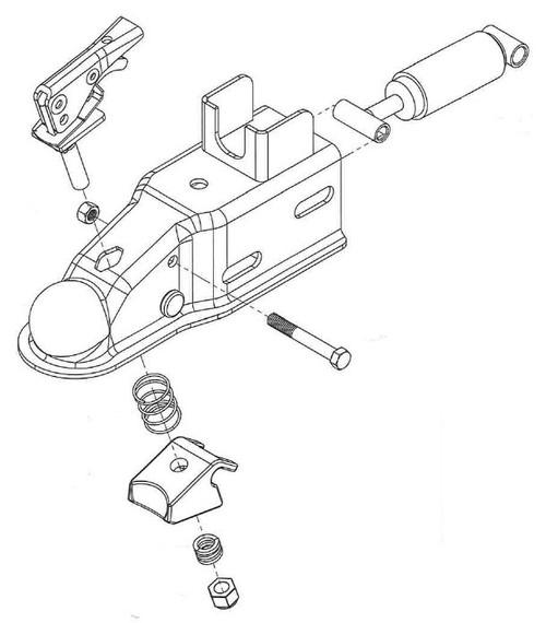 Surge Brake Actuators