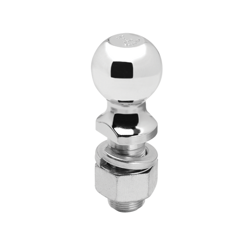 "63830 --- 2"" Hitch Ball with 1-1/4"" Shank, 8,000 lb Capacity, Chrome Finish"