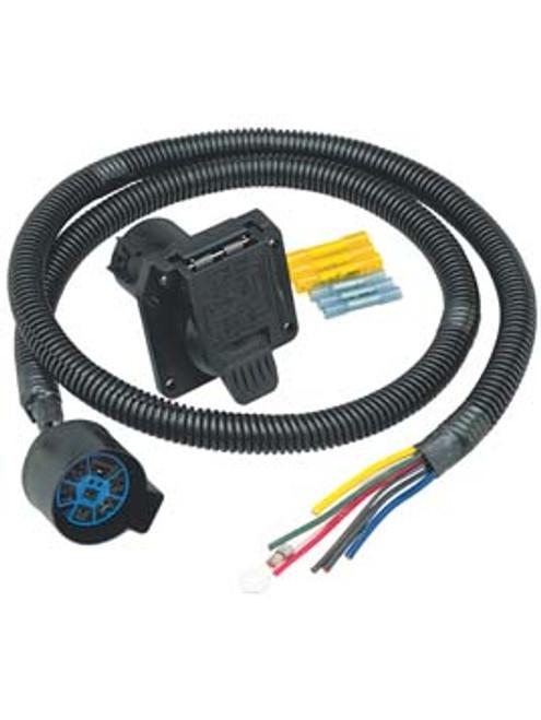 [EQHS_1162]  20024 --- 5th Wheel / Gooseneck OEM Trailer Wiring Harness - 7-Way  Connector 4' | 7 Way Wiring Harness |  | Croft Trailer Supply