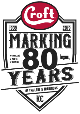 80th Anniversary Badge Logo