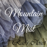 Mountain Mist - Slate Blue and Green Wedding Color Inspiration