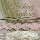 Blushing Meadow - Green and Blush Wedding Color Inspiration