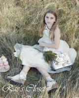 Rae's Closet Flower Girl Dress Trends in Confetti Wedding Magazine