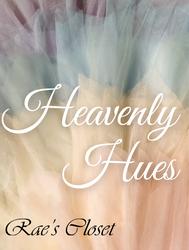 Heavenly Hues - Pastel Rainbow Birthday Dress Inspiration