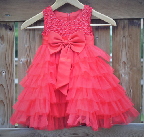 Princess Party Dress -Red