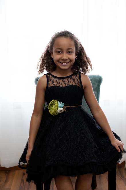 Vivian Dress in Black
