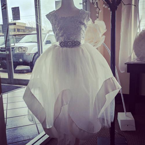 Ayla Rae Hailey Skirt in Warm White