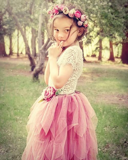 Ayla Rae Gia Skirt in Rose