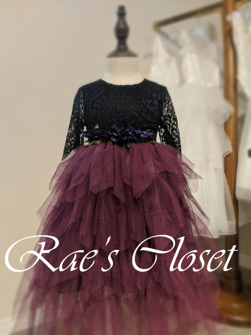 Ayla Rae Gia Skirt in Plum