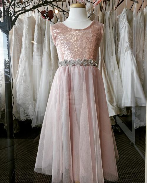 Ayla Rae Petal Pink Skirt