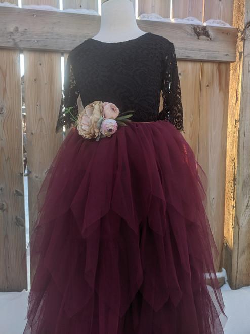 Ayla Rae Signature Lace Bodysuit in Black