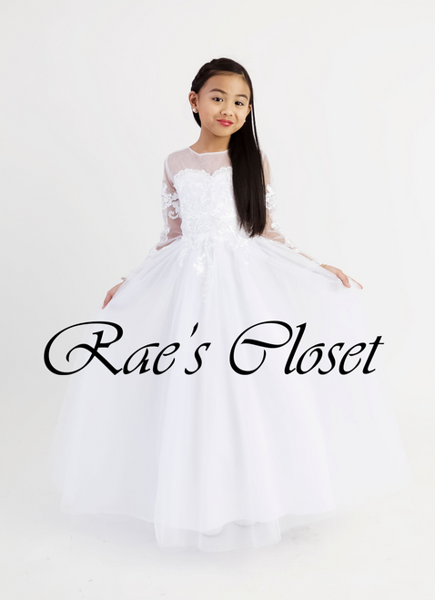 First Communion Ball Gown