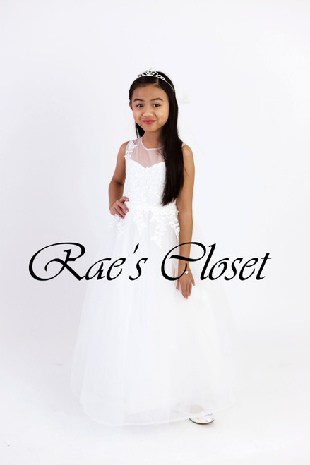 Amara Ball Gown in White