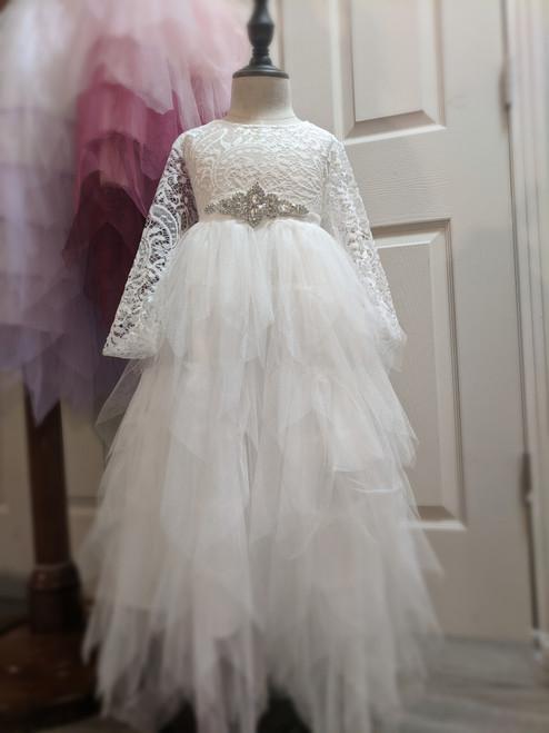 Gorgeous Gia Dress in Warm White