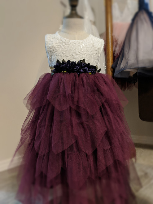 Gorgeous Gia Dress in Plum