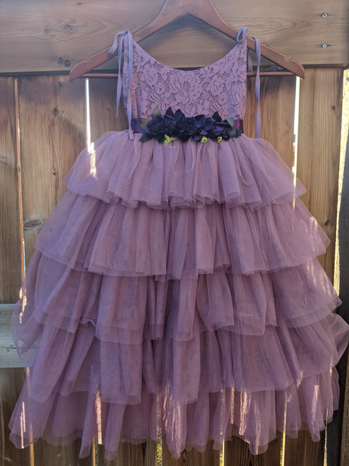 Farrah Gown in Mauve