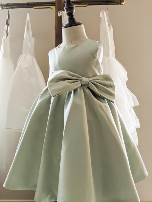Emma Dress in Sage Green