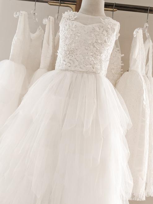 Kaili Dress in Warm White