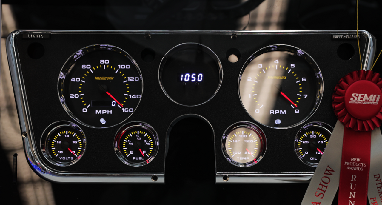 1967-1972 Chevy Truck Analog Gauge Panel - AP6003