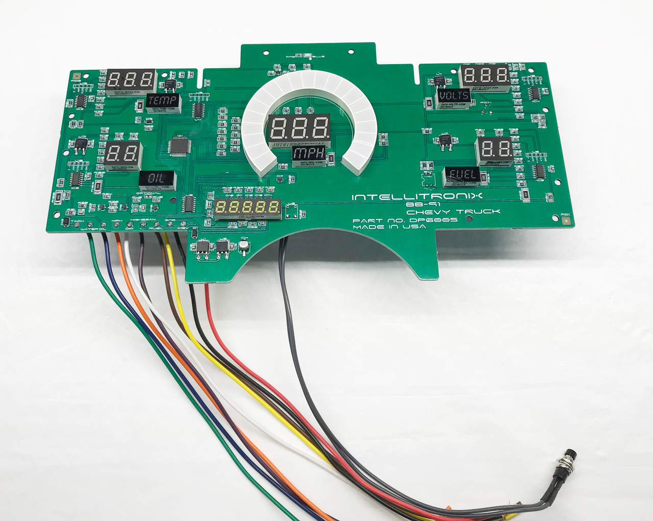 1988-91 Chevy Truck LED Digital Gauge Panel CIRCUIT BOARD