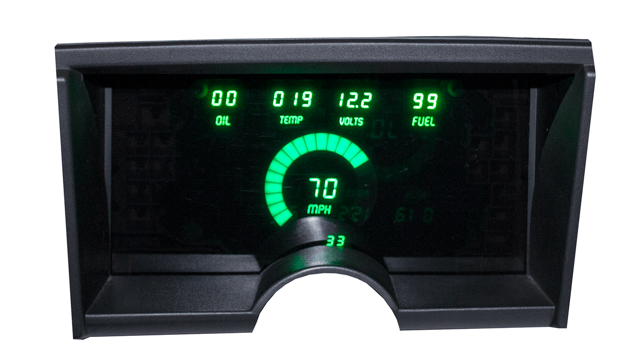 1992-94 Chevy Truck LED Digital Panel - GREEN