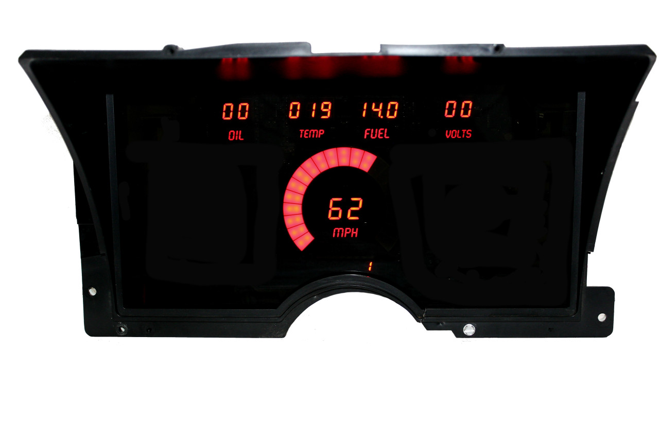 1992-94 Chevy Truck LED Digital Panel - RED