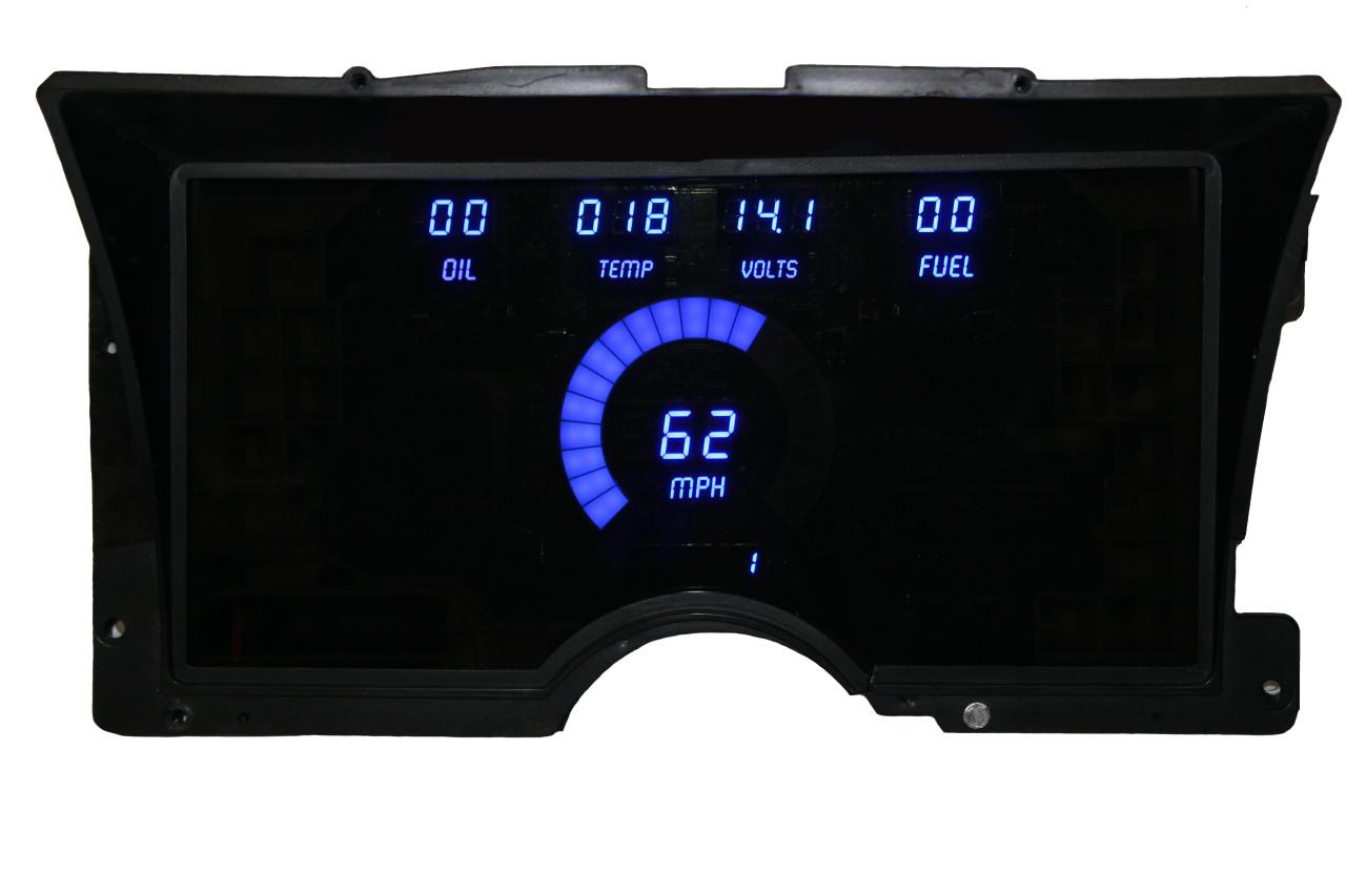 1992-94 Chevy Truck LED Digital Panel - BLUE