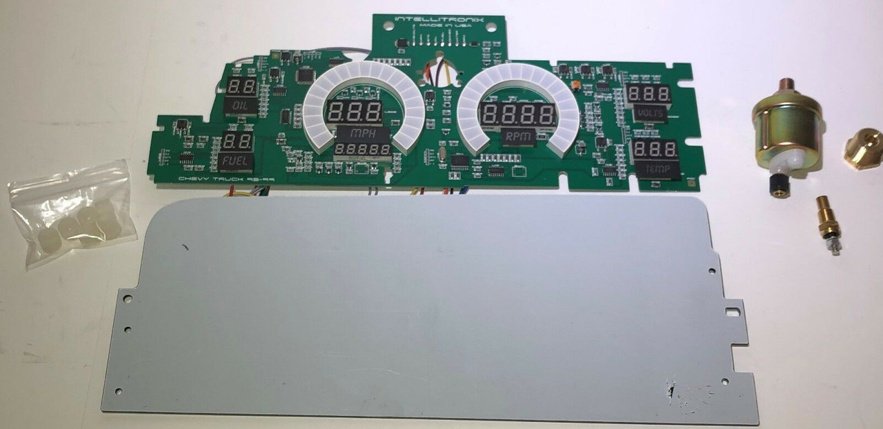1992-94 Chevy Truck LED Digital Gauge Panel KIT
