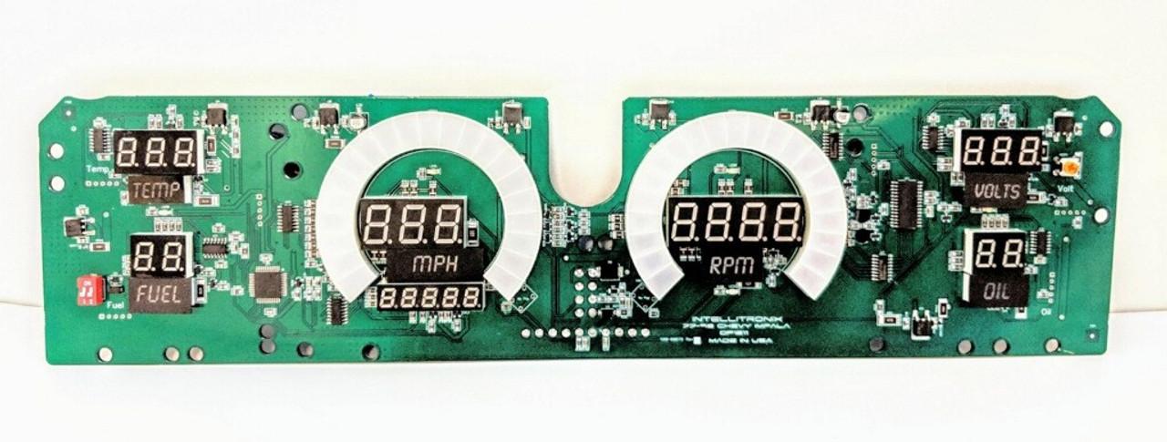 1977-1990 Impala Caprice LED Digital Panel Circuit Board