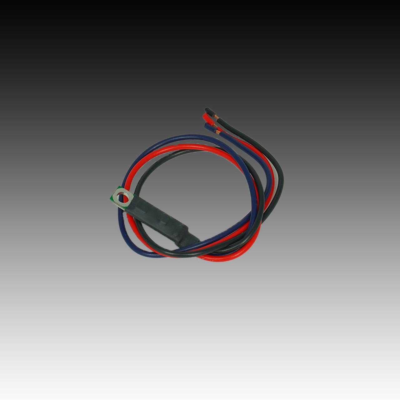 Outside Air Temperature LED Digital Black Bezel - PARTS