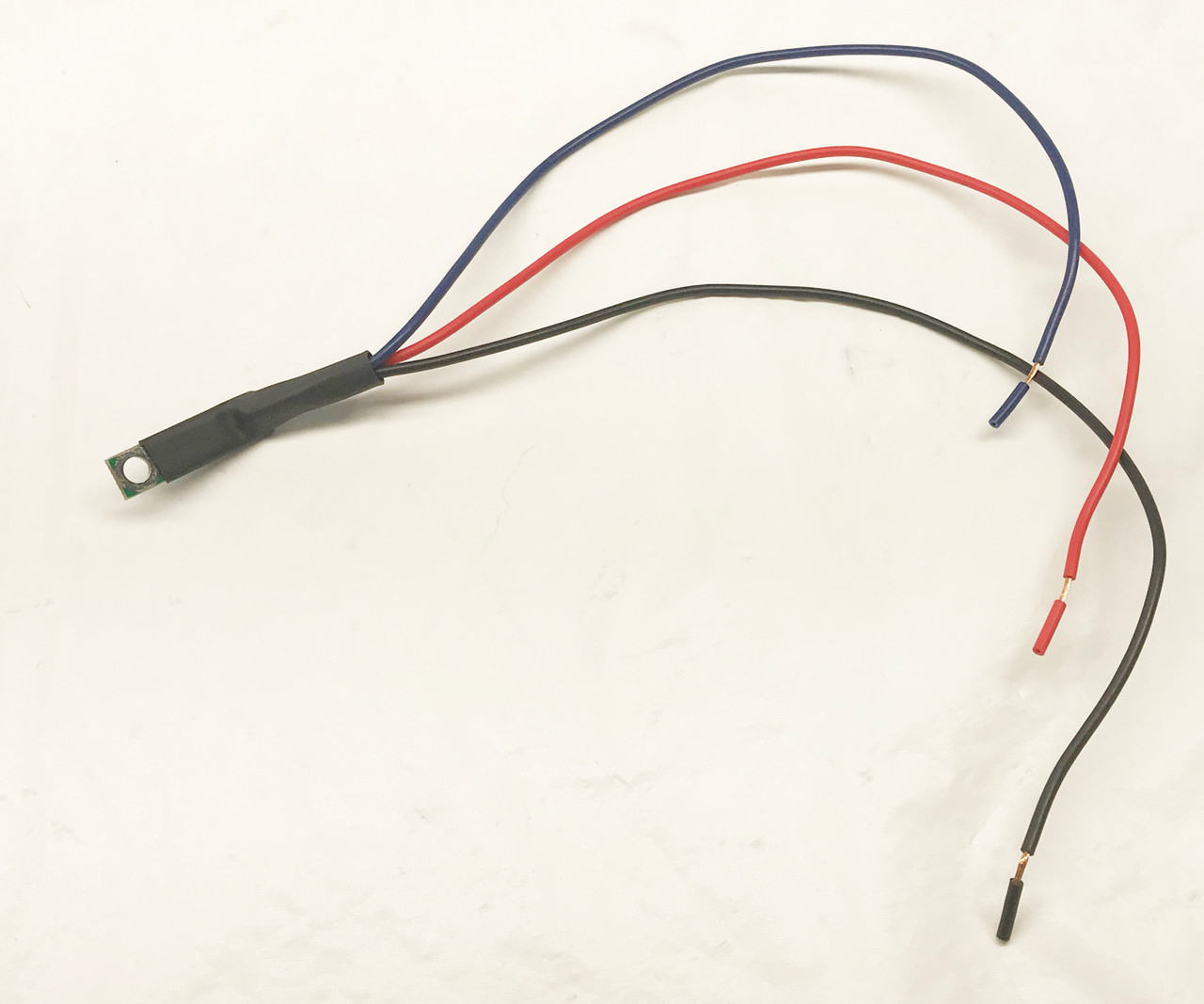 Outside Air Temperature LED Digital Chrome Bezel - WIRE