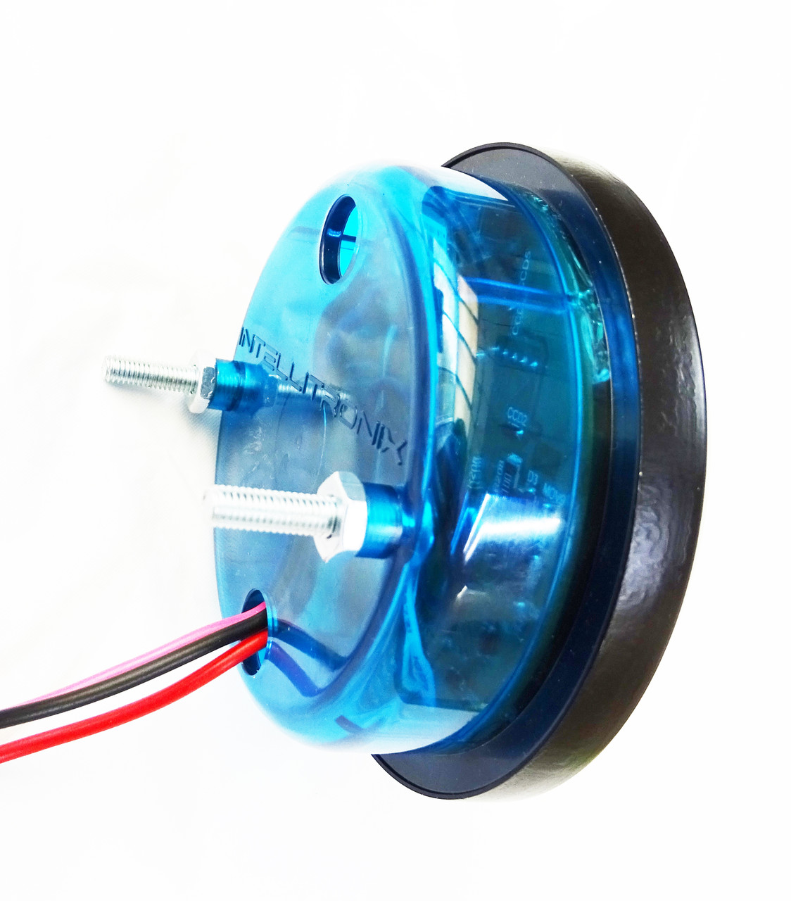 Marine GPS Speedometer Black Bezel MGPS001 BACK
