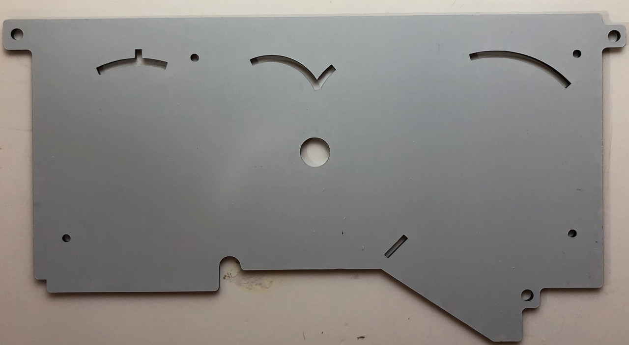 1978-1988 Monte Carlo-El Camino LED Digital Gauge Panel PLEXIGLASS